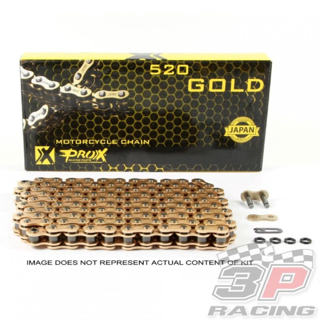 ProX αλυσίδα κίνησης σε Χρυσό χρώμα 07.RC520120CG