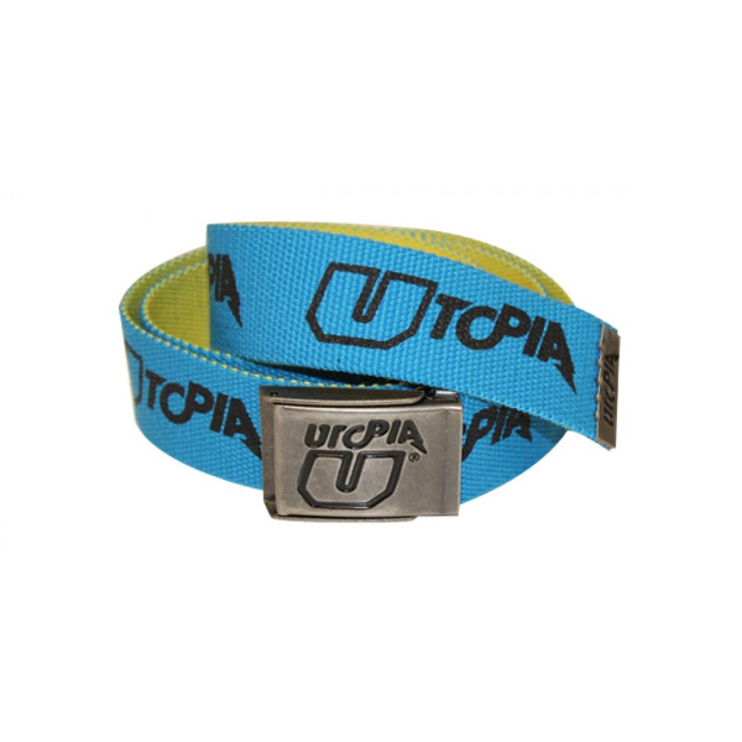 UTOPIA ζώνη Truncated Μπλε/Μαύρο & Κίτρινο UT-BT-002