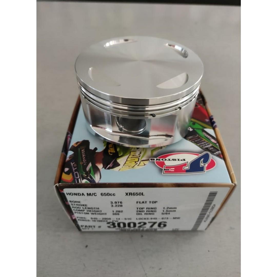 JE σφυρήλατο BigBore +1mm πιστόνι 101mm Υψηλής συμπίεσης 10.5:1 300276 Honda XR 650L, XR 650C, FMX 650, SLR 650, NX 650 Dominator
