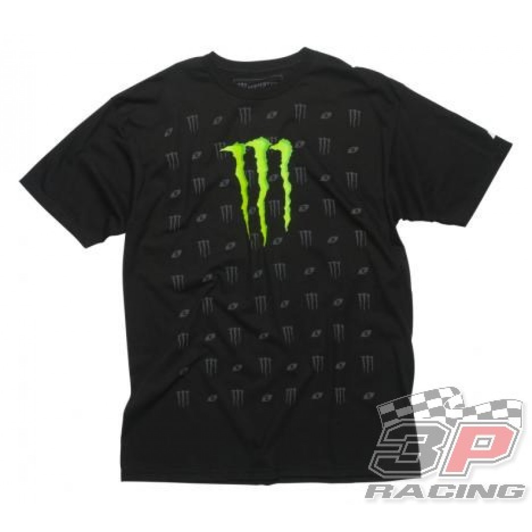 ONE Industries Monster Louis T-Shirt Μαύρο 32113-001