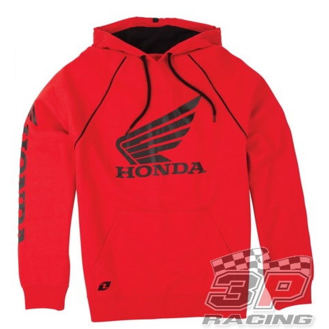 ONE Industries φούτερ με κουκούλα Honda Κόκκινο 36138-007