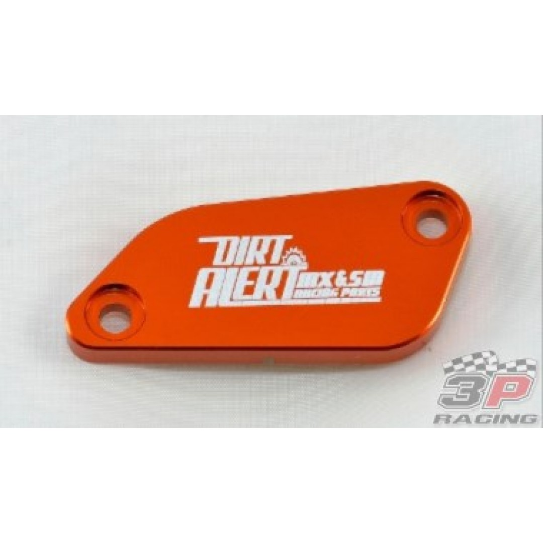 Accel Front brake reservoir cover Orange AC-FBC-10-ORANGE KTM SX 65 2004-2011, SX 85 2003-2012, SX 105 2004-2011