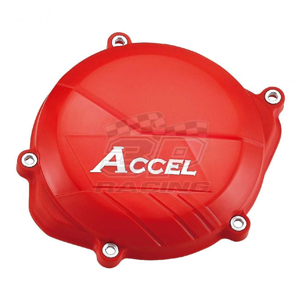 Accel προστατευτικό για καπάκι συμπλέκτη Κόκκινο AC-CCP-102-RD Honda CRF 450 2009-2016