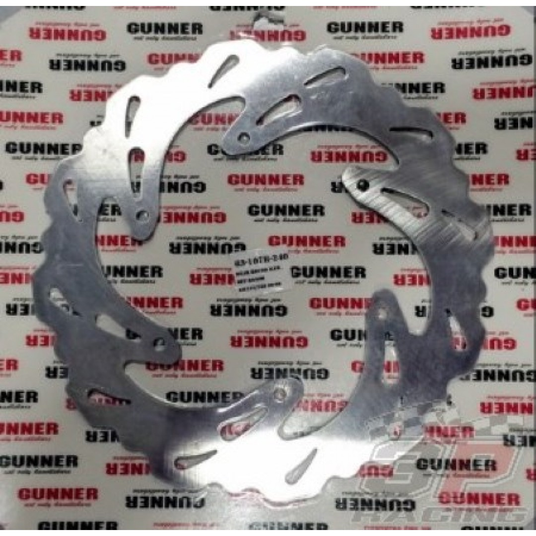 FM Racing/Gunner πίσω δισκόπλακα EL63107R240 Suzuki RM 125, RM 250 2000-2005