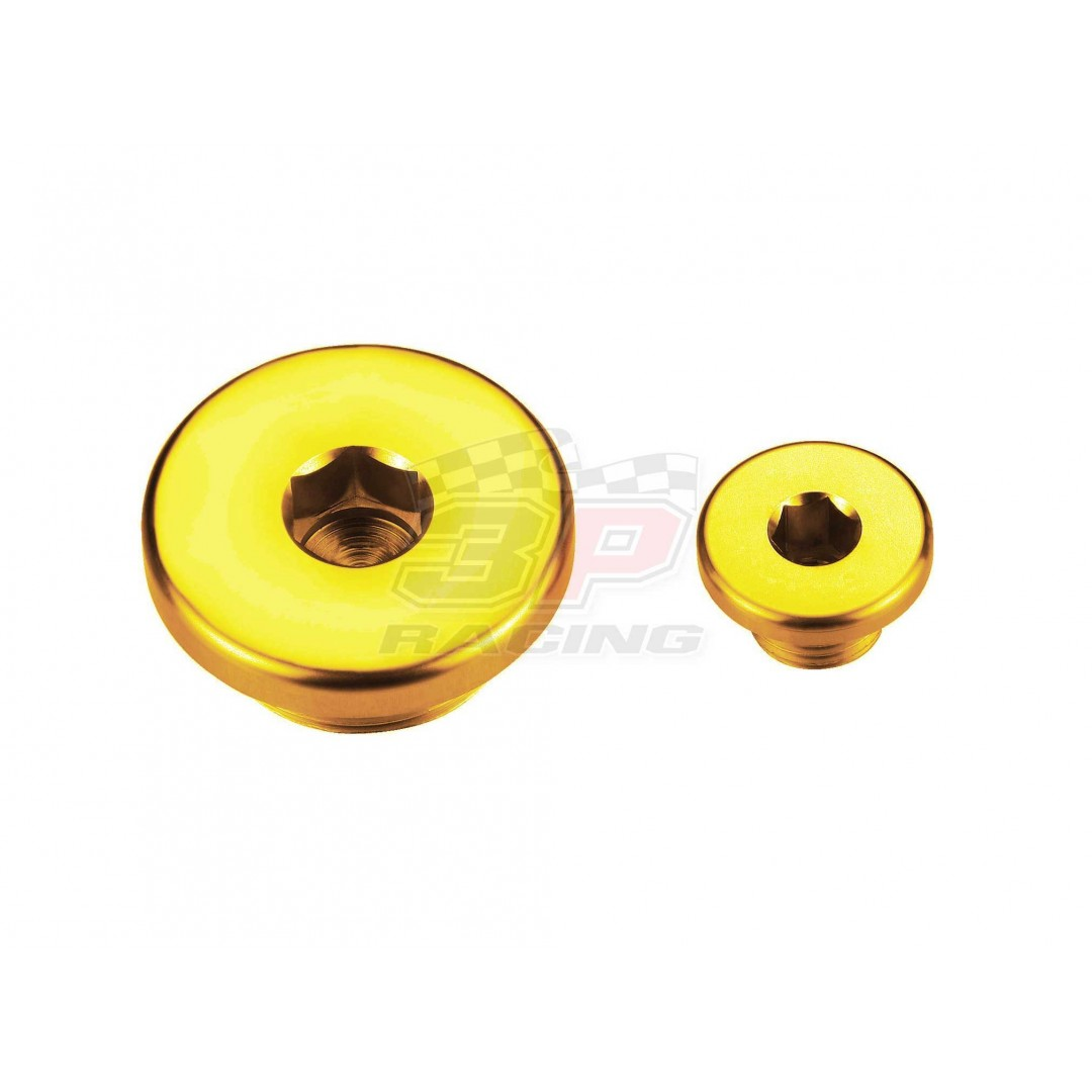 Accel engine plug kit Gold AC-ENP-07-GOLD Suzuki RMZ 250 2007-2019, RMZ 450 2005-2019