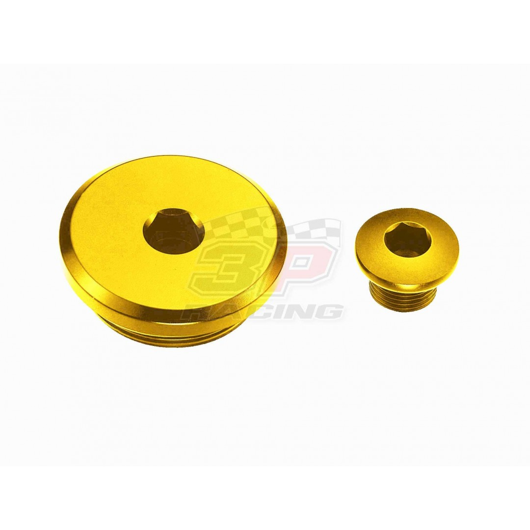 Accel engine plug kit Gold AC-ENP-11-GOLD Suzuki DR 250/350/650SE, DRZ 400, ATV LTZ 90/250/400 LTR 450, Kawasaki KFX 400, ArcticCat DVX 400