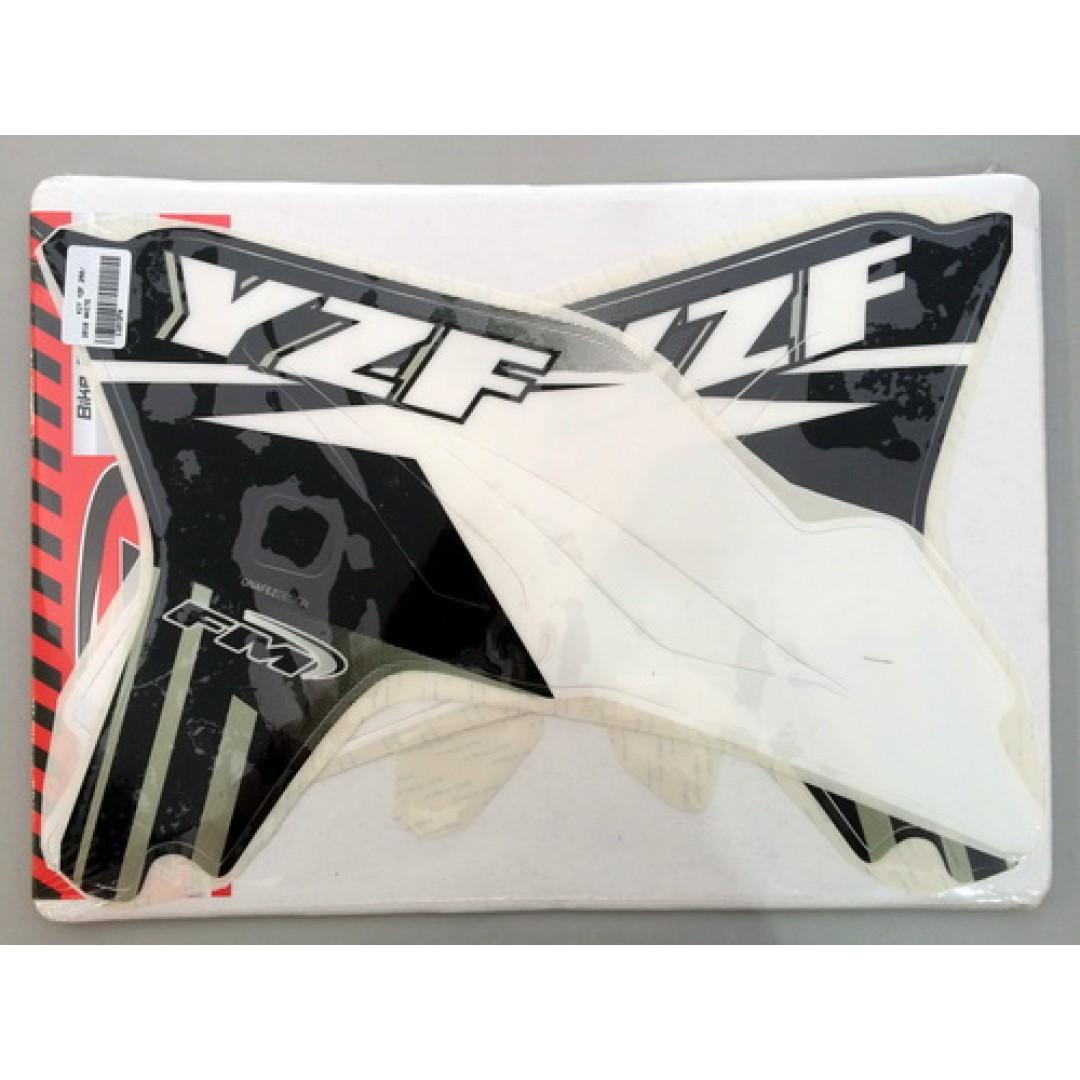 FM Racing αυτοκόλλητα για καπάκια ψυγείου KCS/1/10/YZF/W Yamaha YZF 250 2010-2013