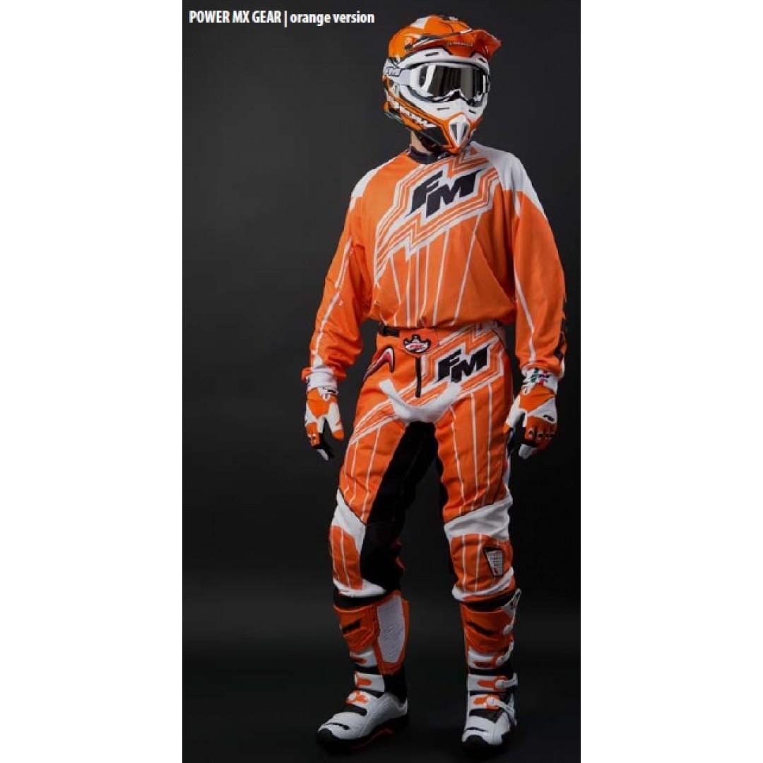 FM Racing μπλούζα Power X22 Πορτοκαλί MA/009/22