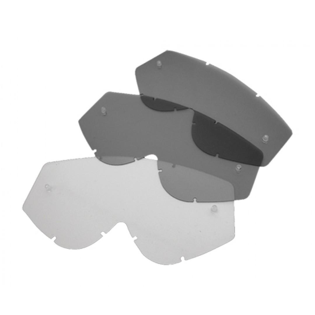 FM Racing ζελατίνα καθρέπτης για Muddy μάσκες MU/SILVER/SP