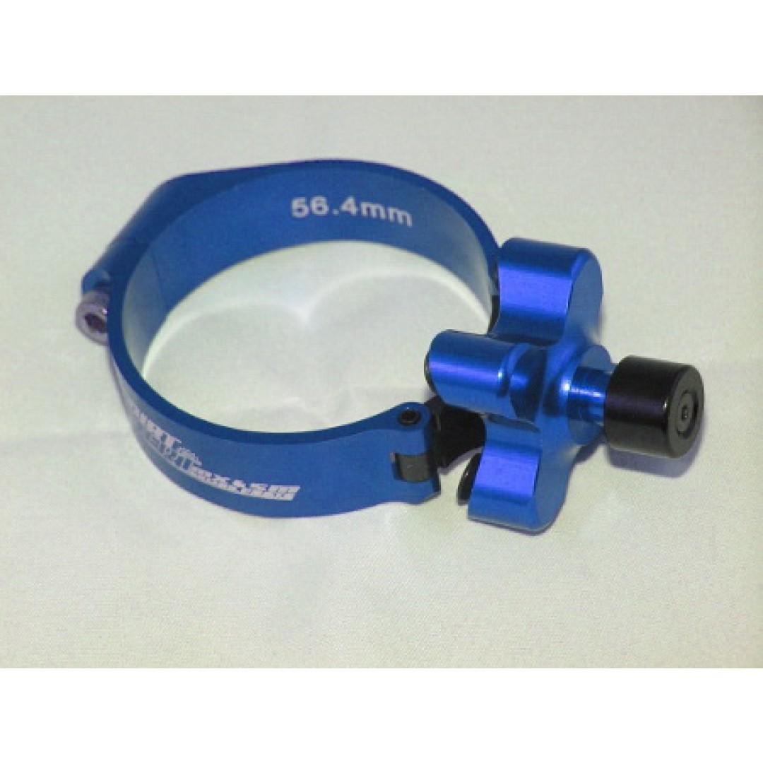 Accel σύστημα εκκίνησης μπουκάλας 57mm Μπλε AC-LC-4584-BLUE Kawasaki KXF 250, KXF 450 2007-2019, Honda CR 250, CR 500, CRF 250R, CRF 250X, CRF 250RX, CRF 450R, CRF 450X, CRF 450RX