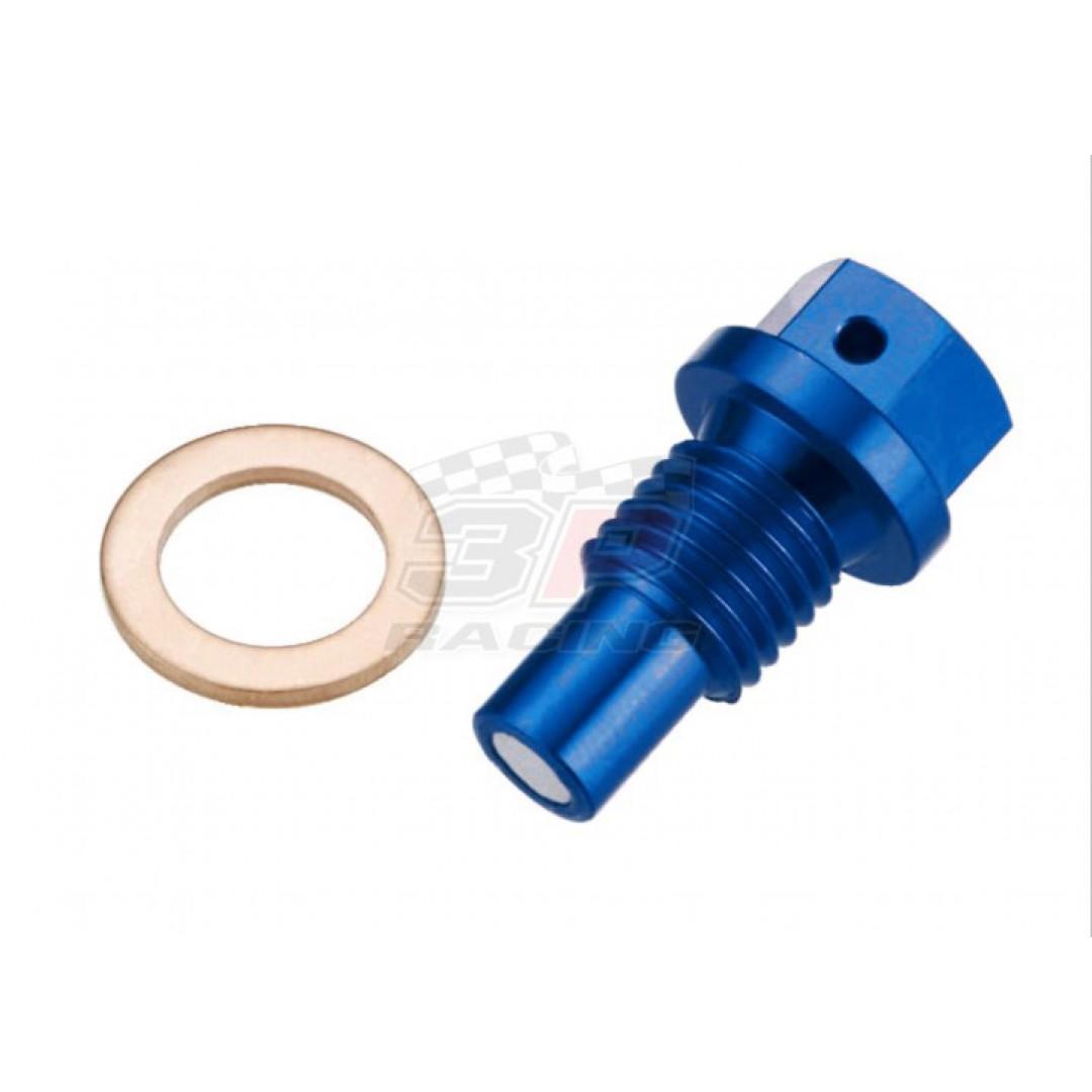 Accel μαγνητική τάπα εξαγωγής λαδιού μπλε AC-MDP-07-BL Husaberg / Husqvarna all models TE TC TX 50 65 125 150 250 300, FE FC FX FS 250 350 390 450 501 550 570 650