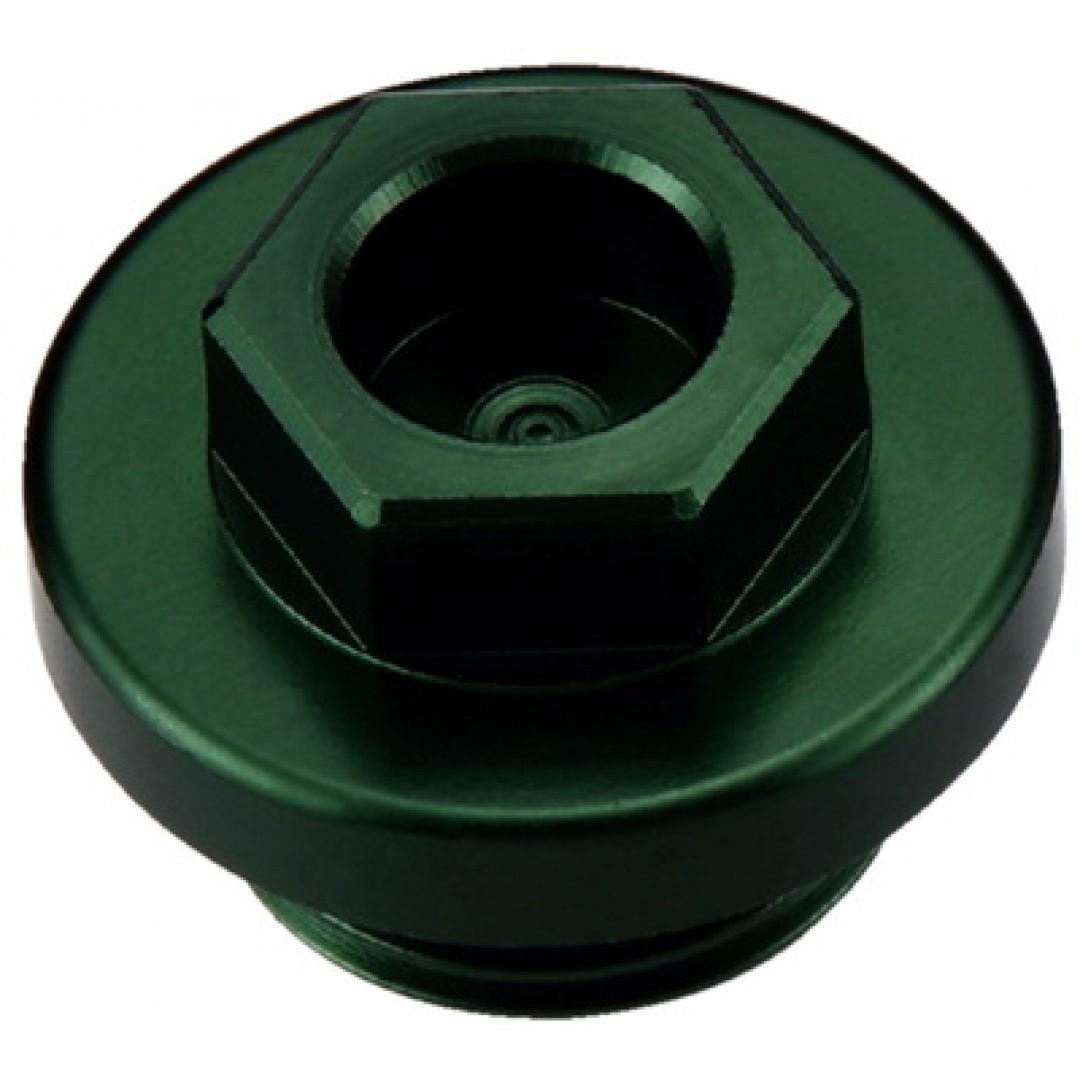 Accel τάπα εισαγωγής λαδιού πράσινο AC-OFP-04-GR Kawasaki KX 250, KXF 250, KXF 450, KLX 450R, Suzuki RMZ 250