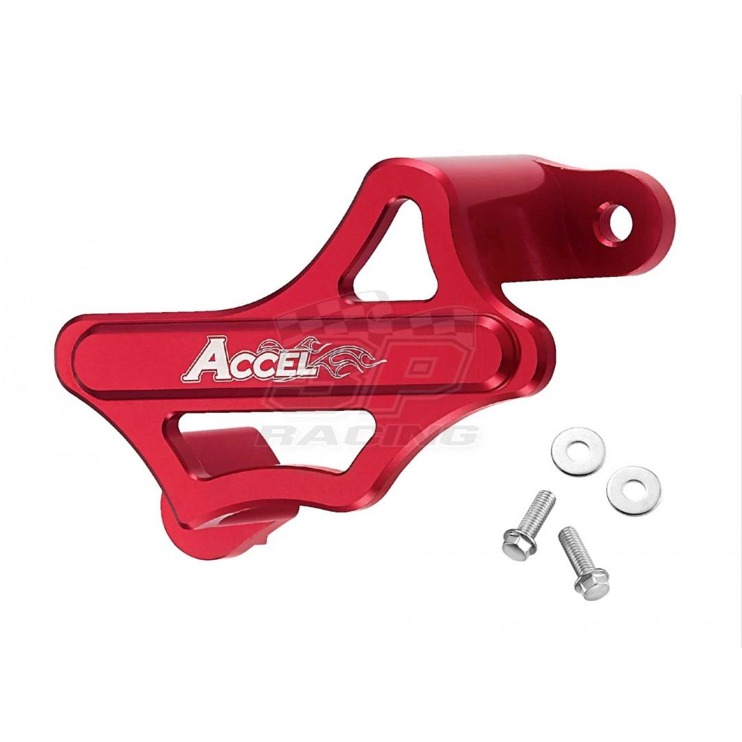 Accel προστατευτικό δαγκάνας πίσω φρένου Κόκκινο AC-RBCG-101-RD Honda CR 125, CR 250, CRF 150R, CRF 250R, CRF 250X, CRF 250F, CRF 250RX, CRF 450R, CRF 450X, CRF 450RX, CRF 450L