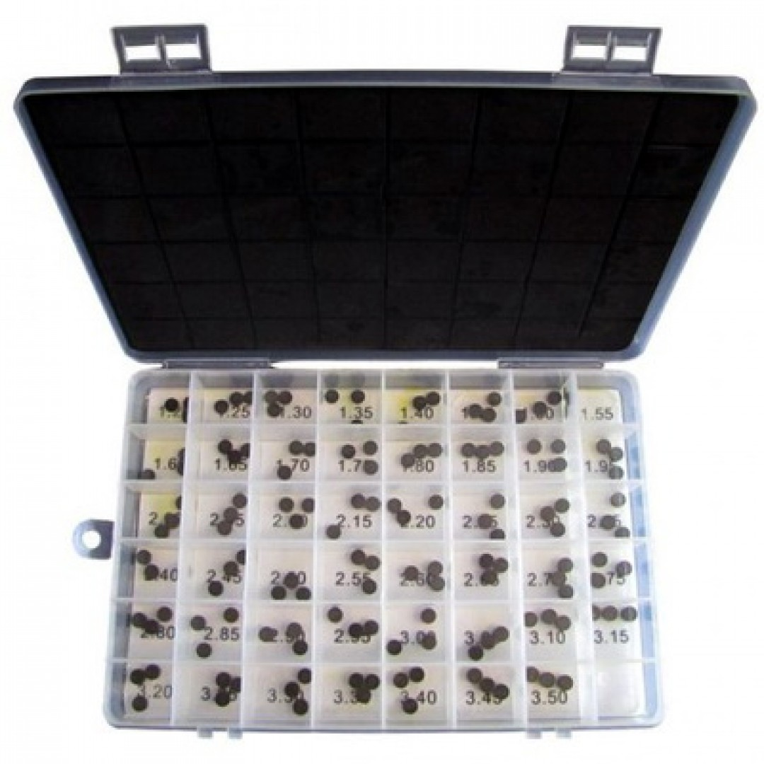 Wiseco σετ καπελότα βαλβιδών διαμέτρου 9.48mm από 1.20mm έως 3.50mm για κάθε 0.05mm VSK9