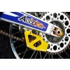 Accel CNC & Anodized, Yellow chain guide for Suzuki RM125 RM250 RMZ250 RM-Z250 RM-Z450 RMZ450 RMX450 RMX450Z DRZ250 DR-Z250 DRZ400 DR-Z400,Yamaha YZ125 YZ250 YZF250 YZ250F YZF400 YZ400F YZF426 YZ426F YZF450 YZ450F WRF250 WR250F WR400F WR426F WRF450 WR450F