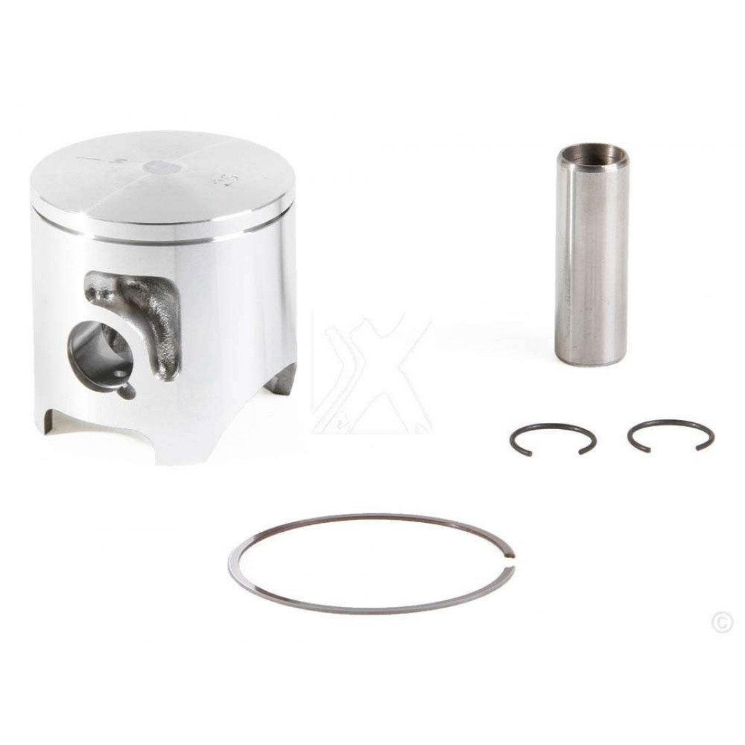 ProX piston kit for Yamaha YZ125 1984, Kit includes piston rings,pin and circlips. P/N: 01.2202.A, 01.2202.B , Diameter: 56.75mm(A), 57.75mm(B) Single Spring