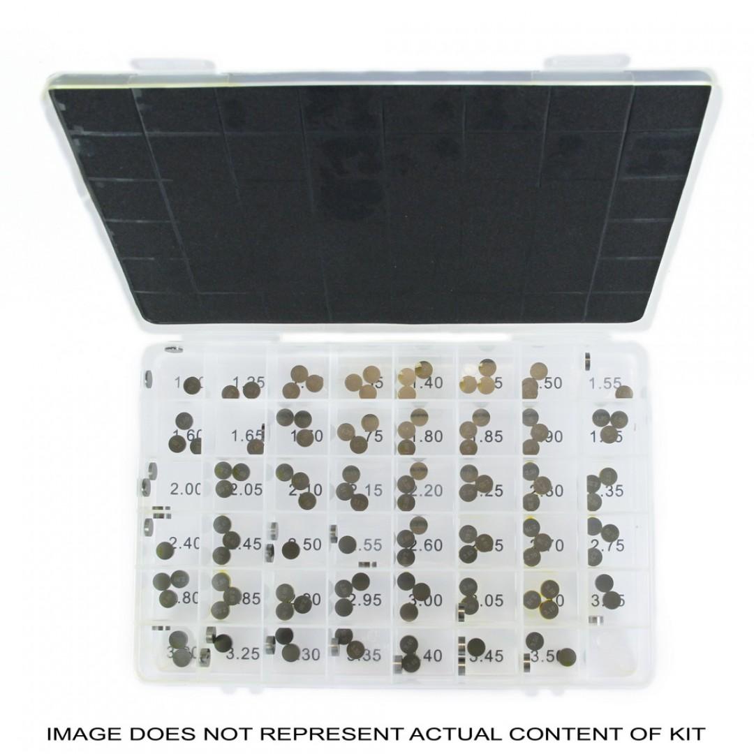 ProX σετ καπελότα βαλβιδών διαμέτρου 7.48mm από 1.225mm έως 3.475mm για κάθε 0.05mm 29.VSA748-2