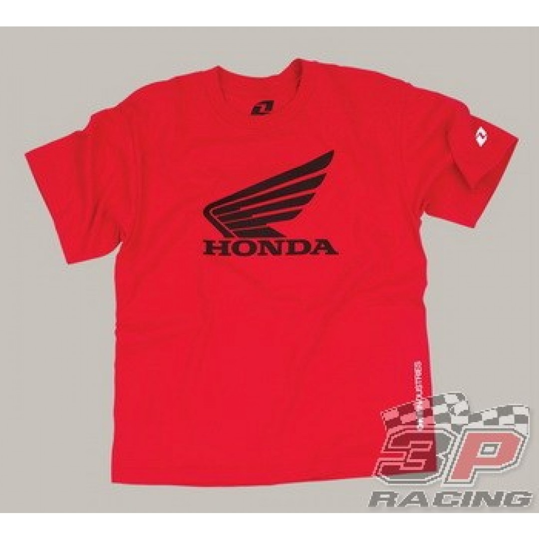 ONE Industries Honda Surface T-Shirt Κόκκινο 32188-007