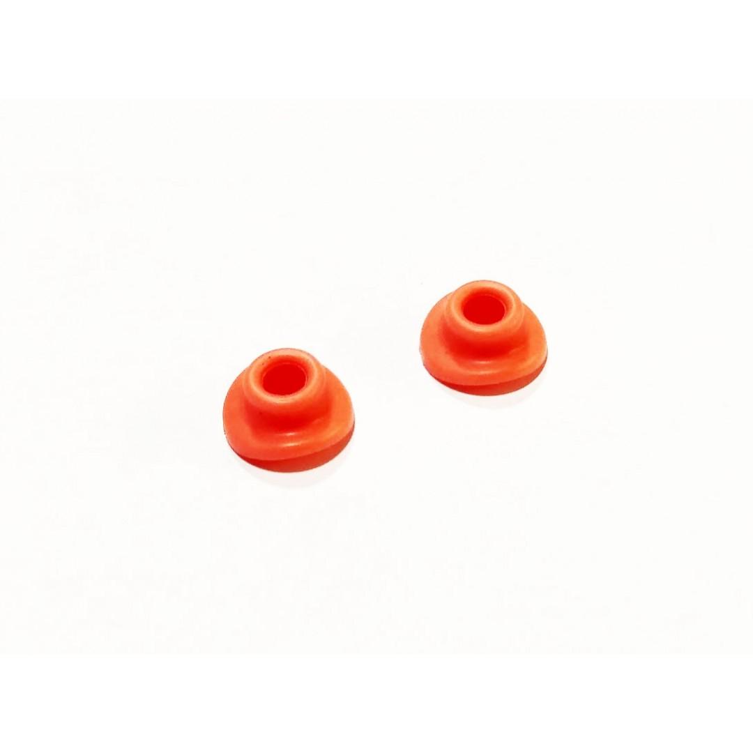 Accel προστατευτικά βαλβίδας ελαστικού Πορτοκαλί AC-VMG-01-OR