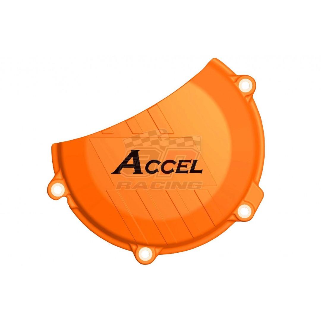 Accel προστατευτικό για καπάκι συμπλέκτη Πορτοκαλί AC-CCP-505-OR KTM SX-F 450 2016-2019, EXC-F 450/500 2017-2019,  Husqvarna FE/FC/FS/FX 450, FE 501