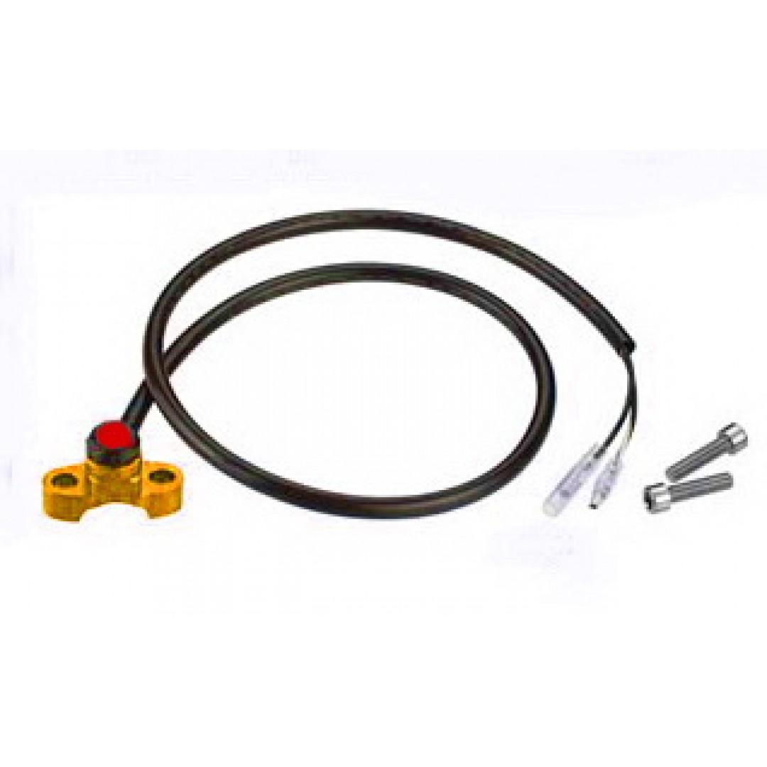 Accel kill switch Χρυσό χρώμα AC-KS-01-GD για όλες τις Off-road μοτοσυκλέτες