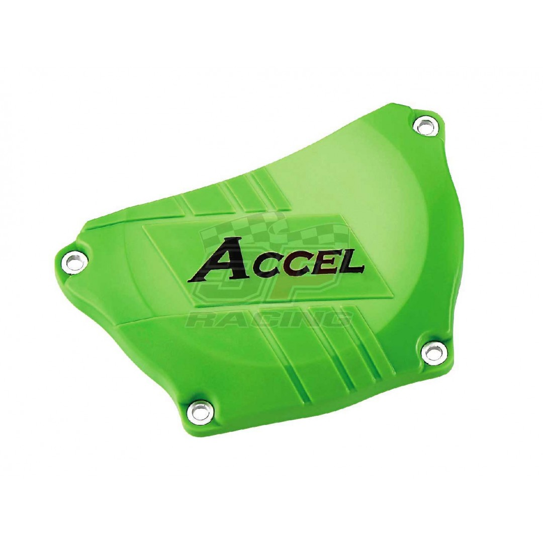 Accel προστατευτικό για καπάκι συμπλέκτη Πράσινο AC-CCP-301-GR Kawasaki KXF 250 2009-2016