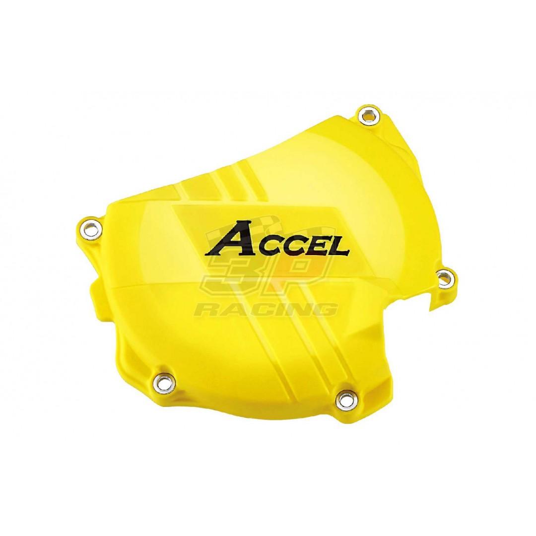 Accel προστατευτικό για καπάκι συμπλέκτη Κίτρινο AC-CCP-402-YL Suzuki RMZ 450 2008-2019, RMX 450Z 2010-2019