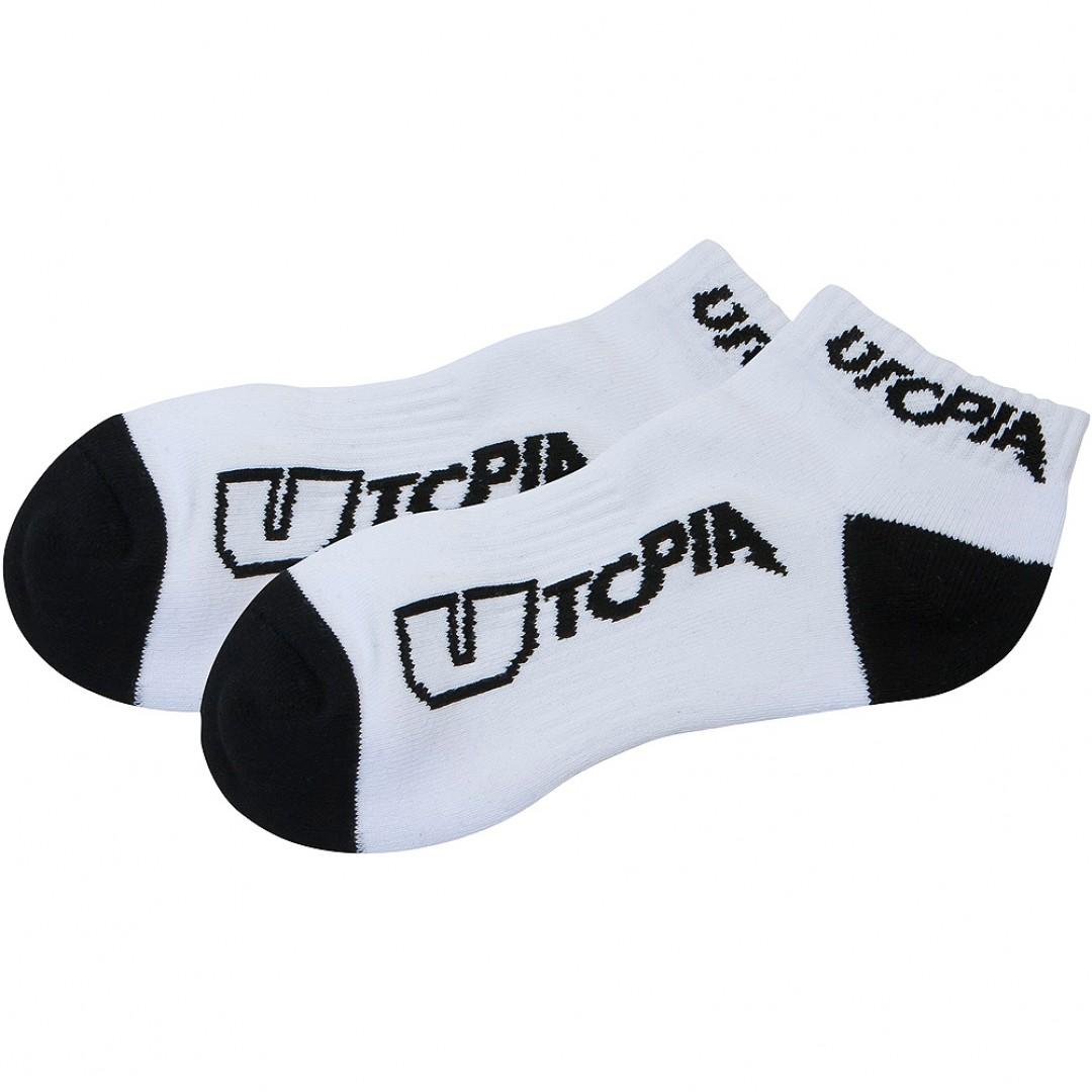 UTOPIA κάλτσες κοντές-αστράγαλου Άσπρο 3-pack UT-SK-WHT-001