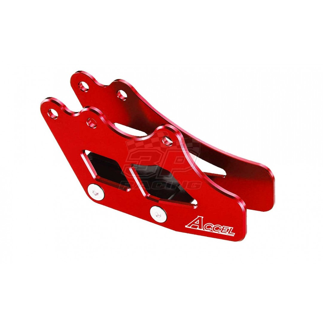 Accel chain guide Red AC-CG-04-RED Yamaha YZ 125, YZ 250, YZ250X, YZF 250, YZF 250X, YZF 450, YZF 450X, WRF 250, WRF 450
