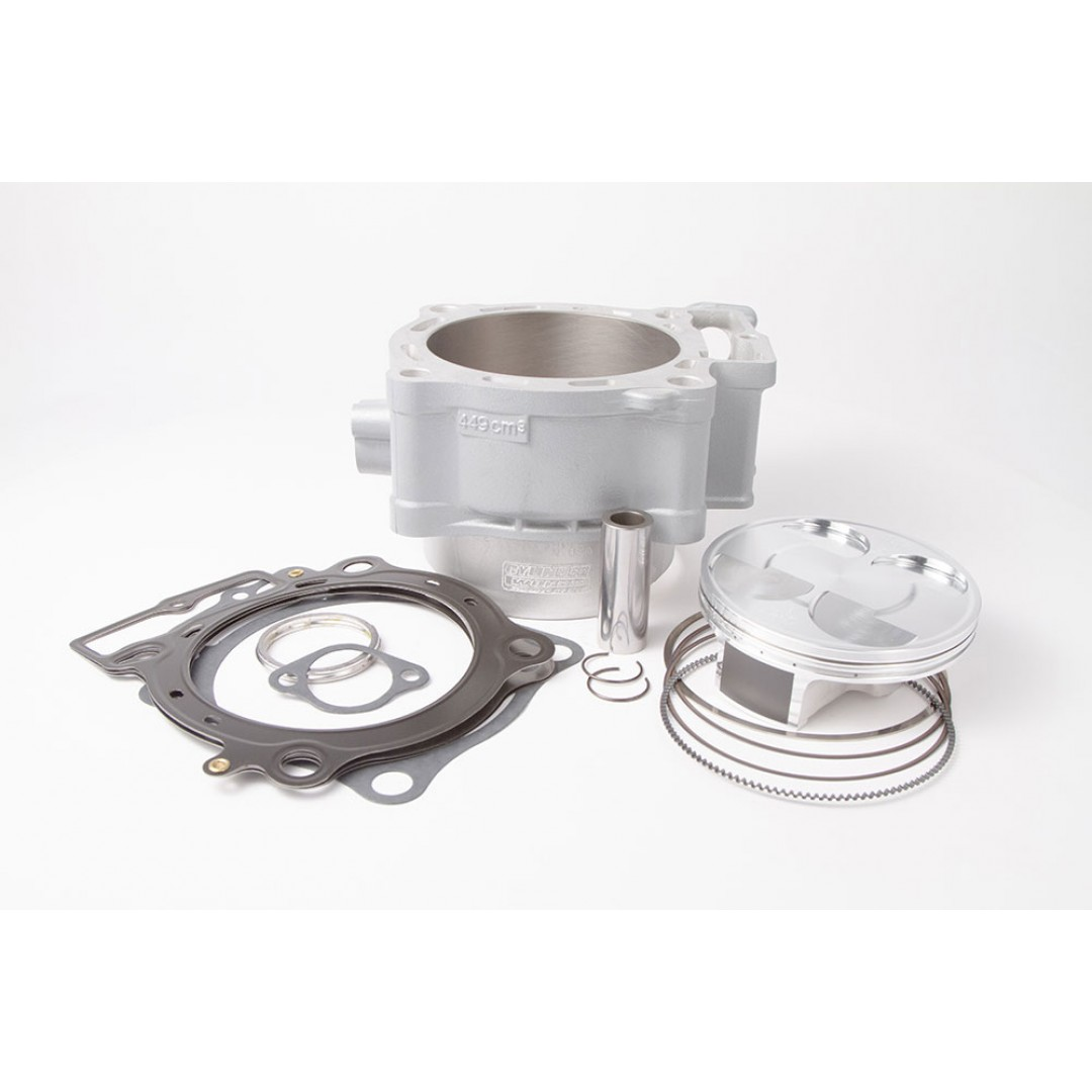 CylinderWorks 11006-K02 BigBore 478cc Nikasil cylinder kit with VerteX overbore piston and top end gasket set with 99.00mm diameter for Honda CRF450 CRF450R CRF 450 2013 2014 2015 2016. Replaces Honda OEM cylinder 12100-MEN-A50. P/N: 11006-K02