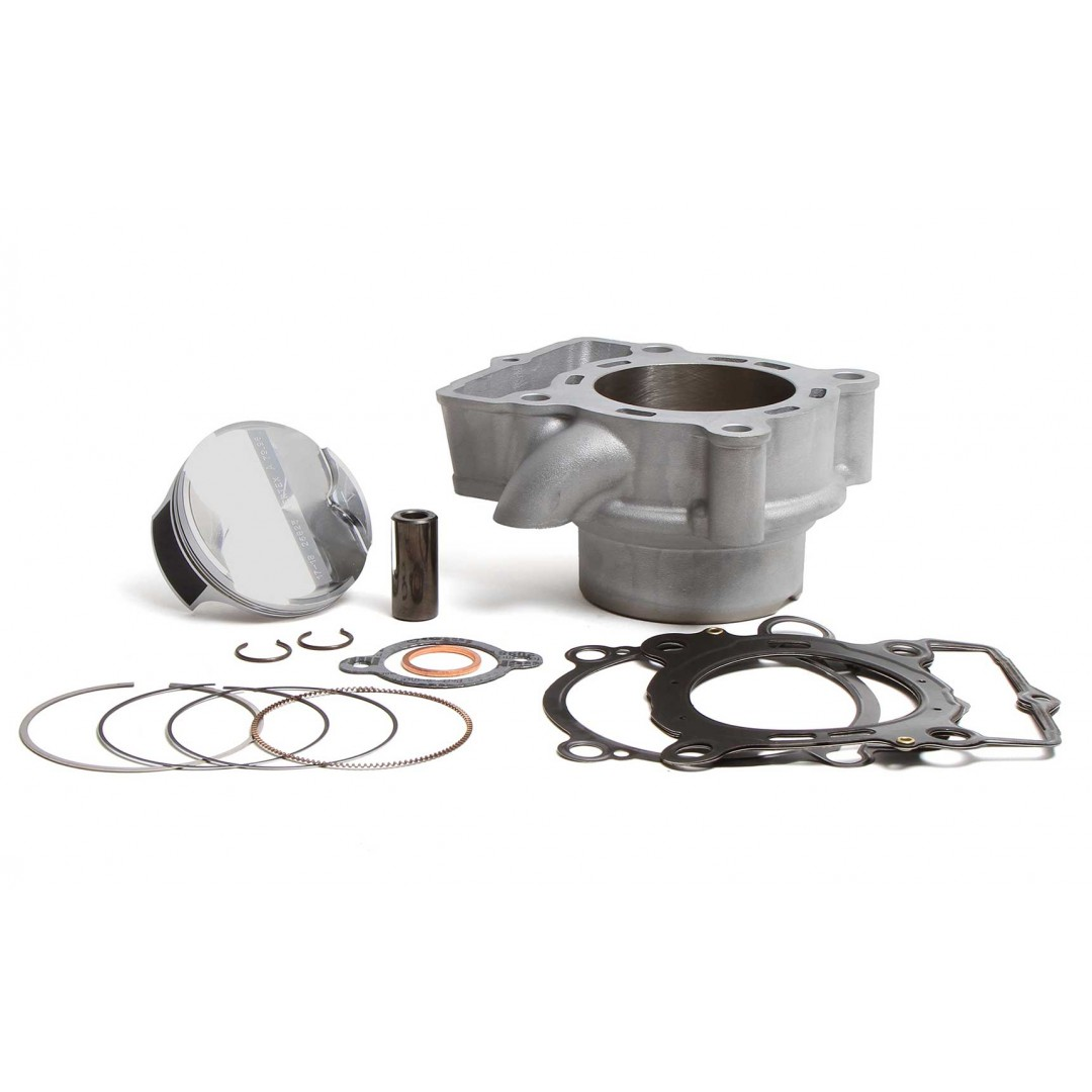 CylinderWorks 51006-K01 BigBore 270cc +3mm Nikasil cylinder kit with VerteX overbore piston 14.4:1 and top end gasket set with 81.00mm diameter for KTM SXF250 SX-F250 SXF 250 EXCF250 EXC-F250 EXCF 250, Husqvarna FE250 FC250 2016 2017 2018 2019 2020. 79030