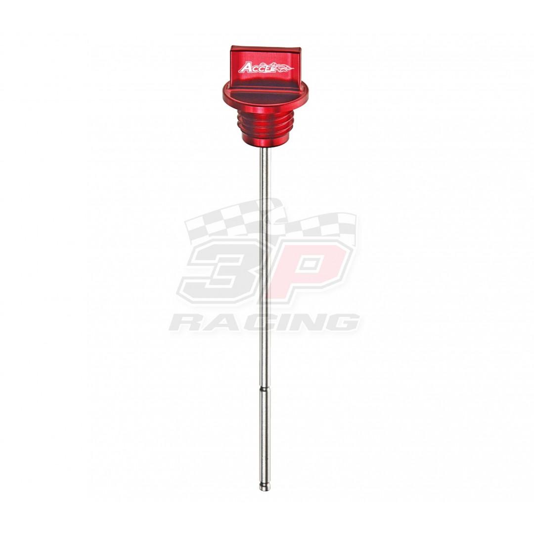 Accel τάπα λαδιού & δείκτης Κόκκινο AC-DIP-01-RED Honda CRF 250R 2010-2013