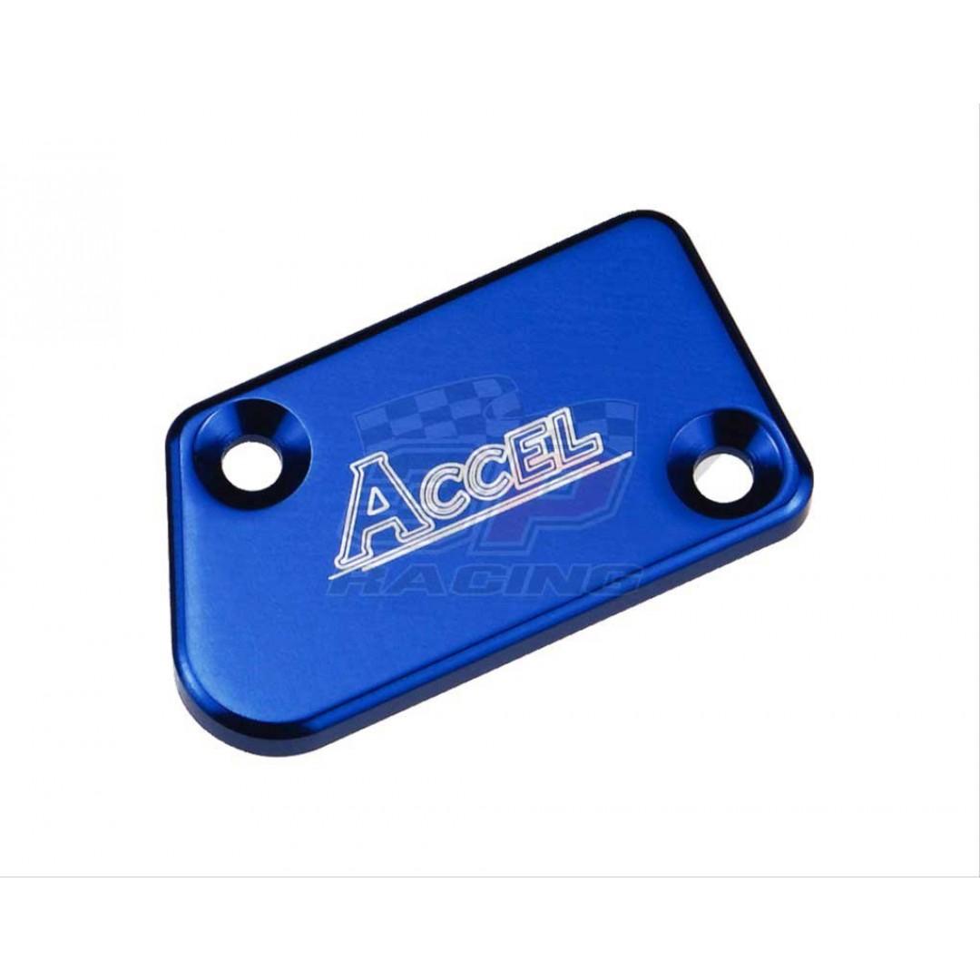Accel Front brake reservoir cover Blue AC-FBC-04-BLUE Yamaha YZ 125/250/250X, YZF 250/450/250X/450X 2007-2019, WRF 250/450