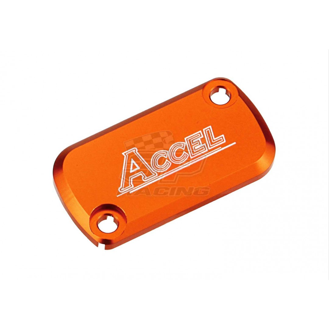 Accel Front brake reservoir cover Orange AC-FBC-06-ORANGE KTM SX 65 2012-2013