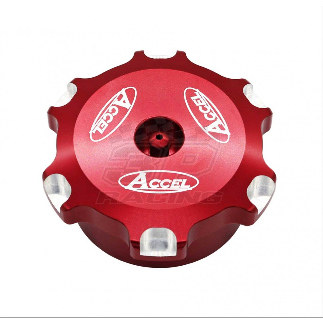 High quality CNC aluminum alloy Red fuel tank cap Honda 17620-MKE-A00 for Honda CRF250 CRF250R CRF450R CRF450 2017 2018. Includes vent breather. P/N: AC-GTC-16-RD