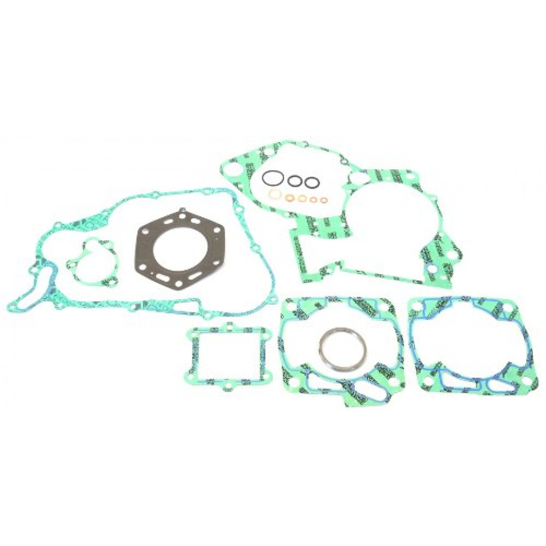 Athena full gasket kit for Honda CRM250 1990-2000. P/N : P400210850264. Kits includes all necessary gaskets, O-rings and valve seals to rebuild the entire engine and transmission. Does not contain crankshaft and transmission seals.