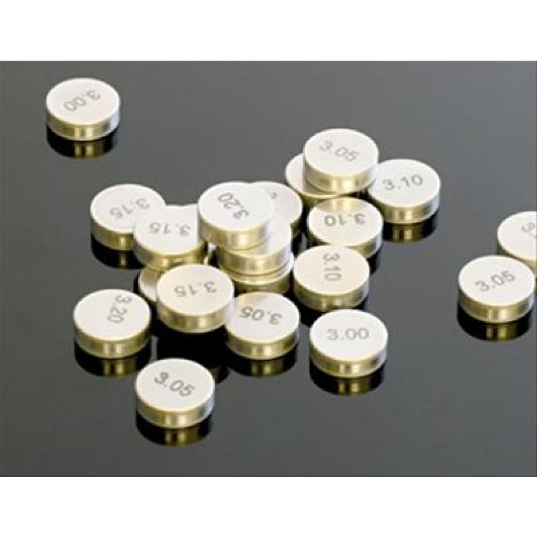 ProX καπελότα βαλβιδών - Σετ των 5 - Διαμέτρου 8.90mm - Μεγέθη 1.72mm έως 2.60mm για κάθε 0.02mm 29.890