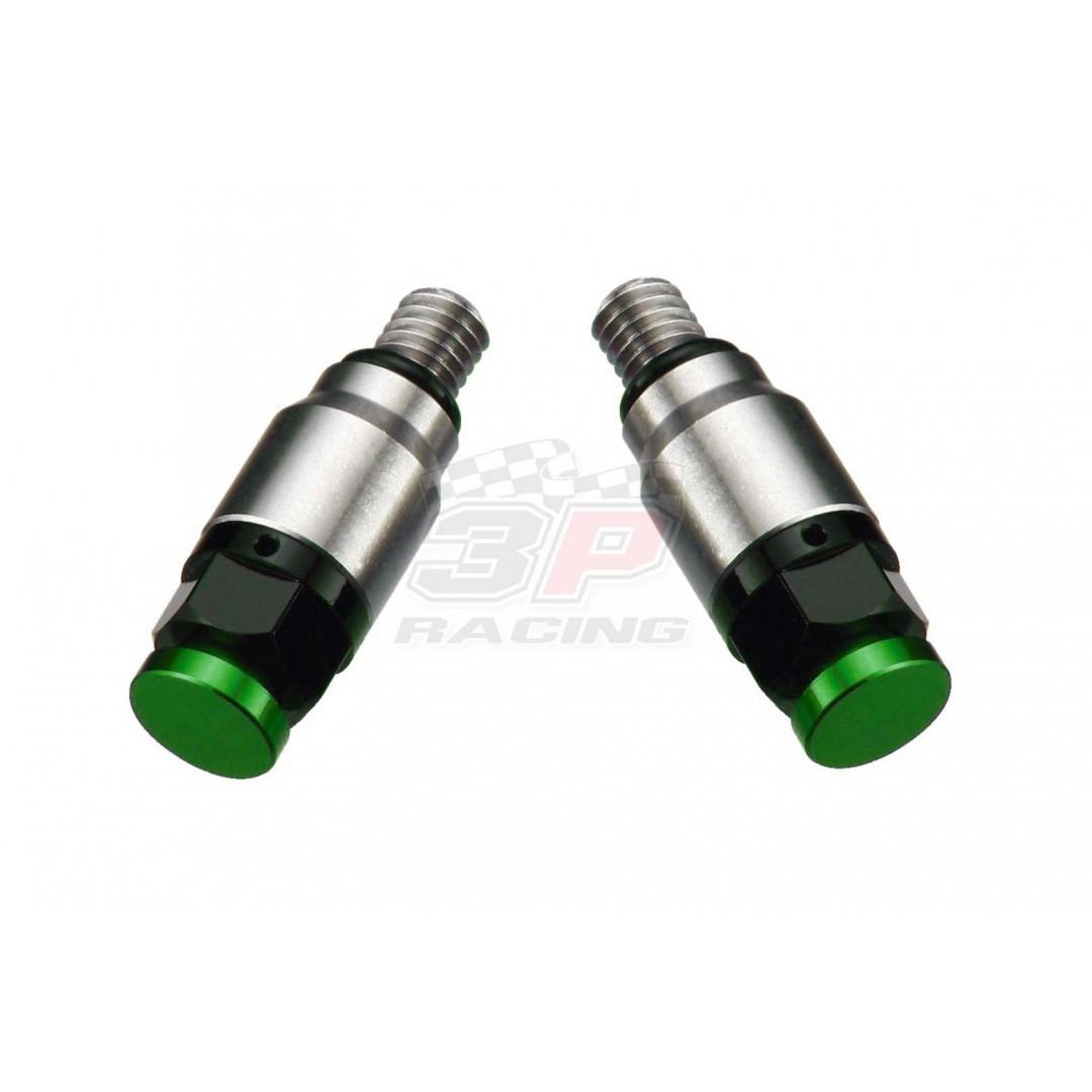 Accel εξαερωτήρες καλαμιών για Showa & Kayaba Πράσινο AC-PRV-01-GR