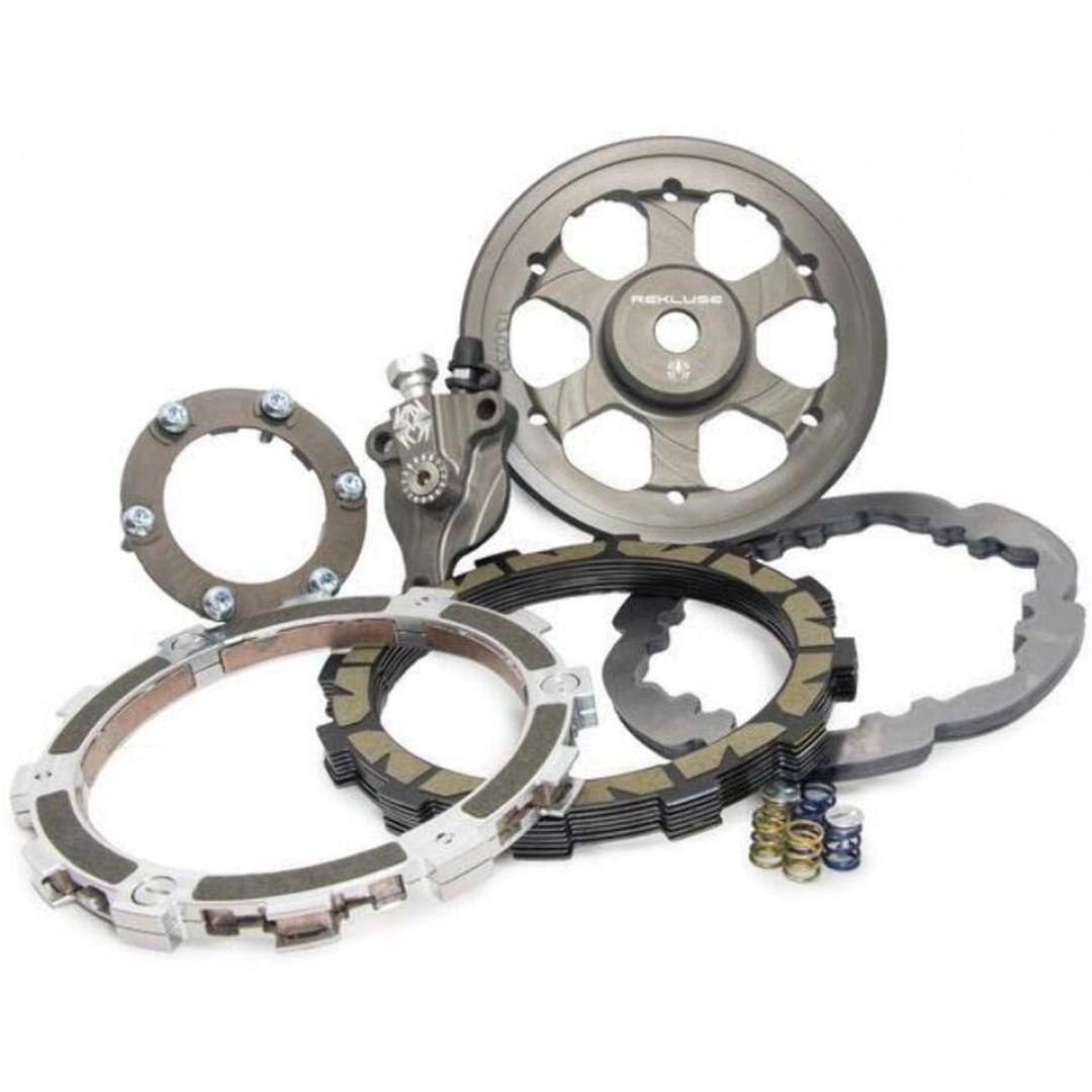 Rekluse Radius X semi auto clutch set for Off-road KTM SX250 EXC250 EXC300 2017 2018 2019 2020 2021, Husqvarna TE250 TC250 TE300 TX300, Gas Gas EC300 XC300 2021. Change / Shift gear without clutch lever use. Enhanced, faster, more fun motocross
