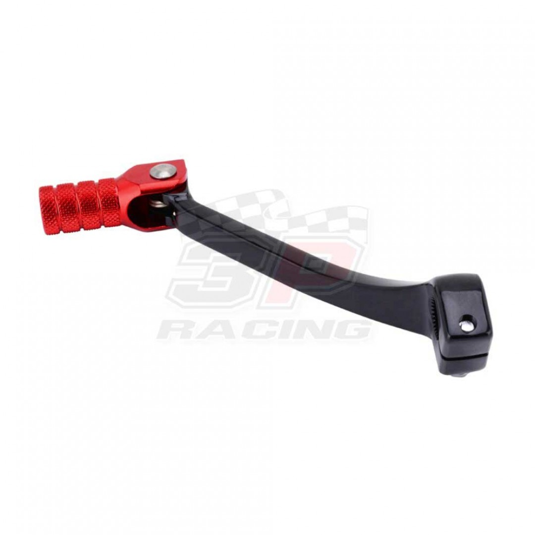 Accel CNC Black / Red gear shifter change lever for Honda CRF 250R CRF250 CRF250R 2018-2020, CRF 450R CRF450 CRF450R 2017-2020, CRF 250RX CRF250RX 2019, CRF 450RX CRF450RX 2017-2019. Forged with genuine billet aluminium. Replaces Honda OEM parts 24700-MKE