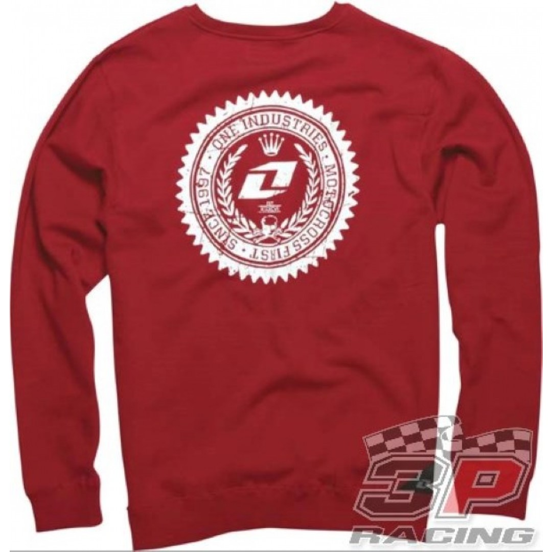 ONE Industries Mustang Crew Long Sleeves Red 36079-186
