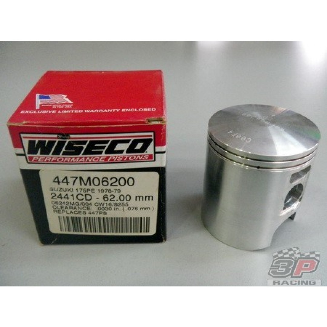 Wiseco piston kit 447M Suzuki PE 175 1978-1979