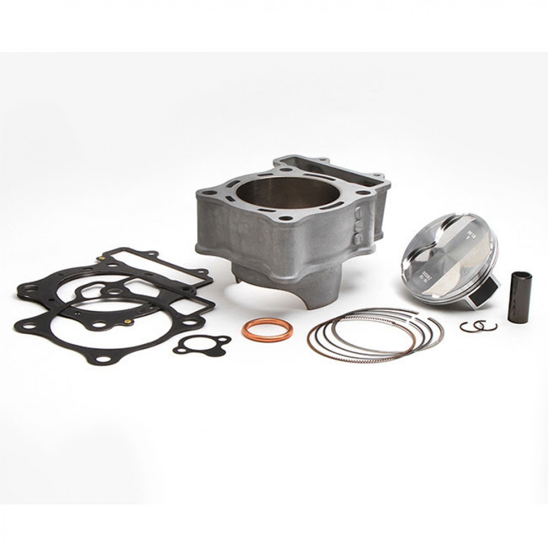 CylinderWorks 11011-K01 BigBore 270cc Nikasil cylinder kit with VerteX overbore piston and top end gasket set with 82.00mm diameter for Honda CRF250 CRF250R CRF250RX CRF 250 2018 2019. Replaces Honda OEM cylinder 12100-K95-A20. P/N: 11011-K01