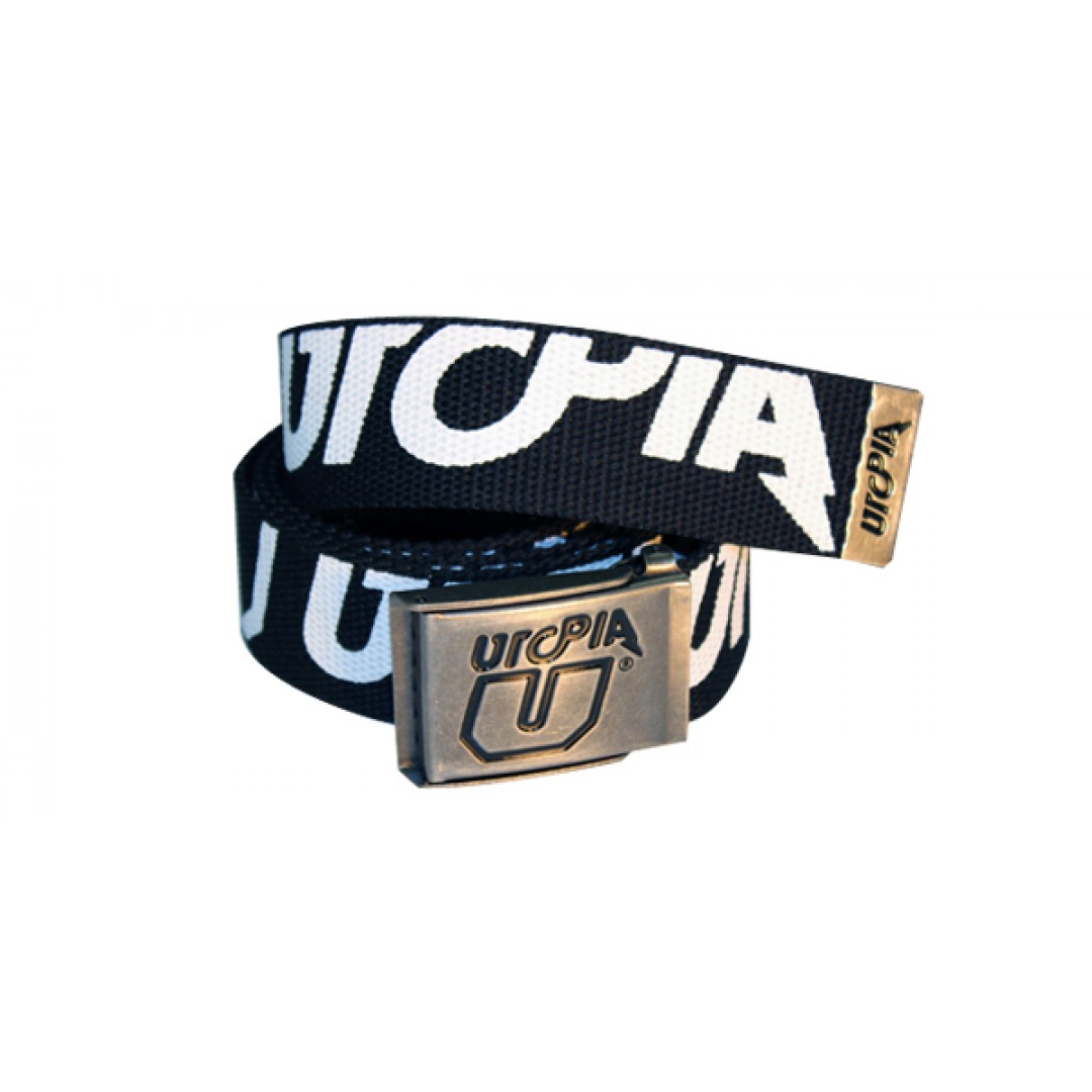 UTOPIA belt Truncated Black/White UT-BT-001