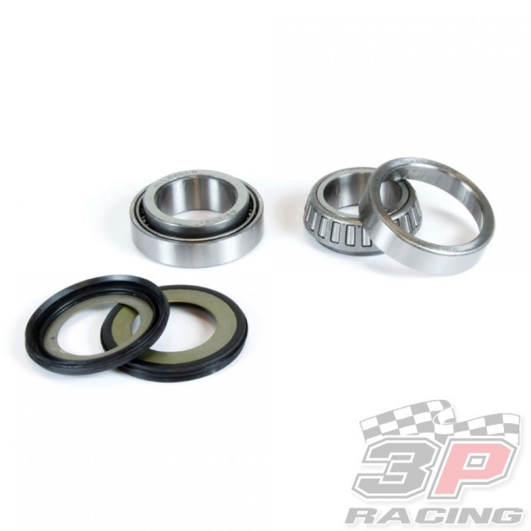 All Balls Racing steering head bearings & seals kit 22-1013 Suzuki RM 125, RM 250, RMX 250, RMZ 250, DRZ 250, DRZ 400, DR 650SE, XF 650 Freewind, Kawasaki KLX 400R. steering stem bearing & seal set for Suzuki RM125 RM250 RMX250 RMZ250 RM-Z250 DRZ250 DR-Z2