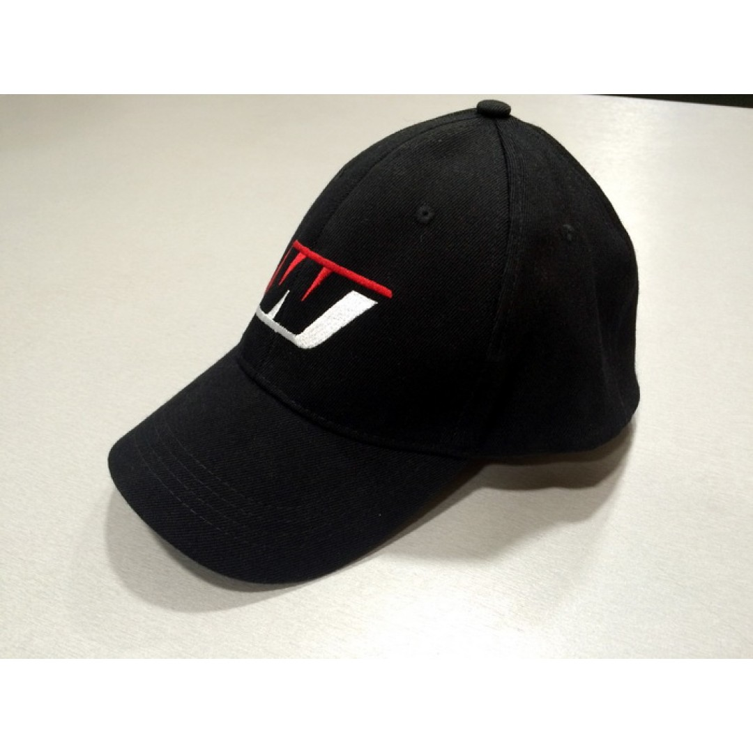 Wiseco icon flexfit hat Black W6895