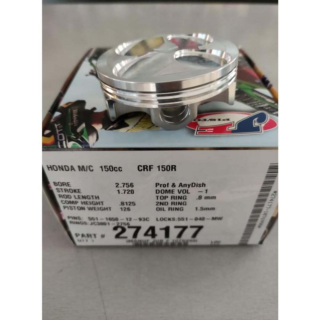 JE forged BigBore +4mm 70mm piston kit High-Compression 13:1 274177 Honda CRF 150R 2007-2020