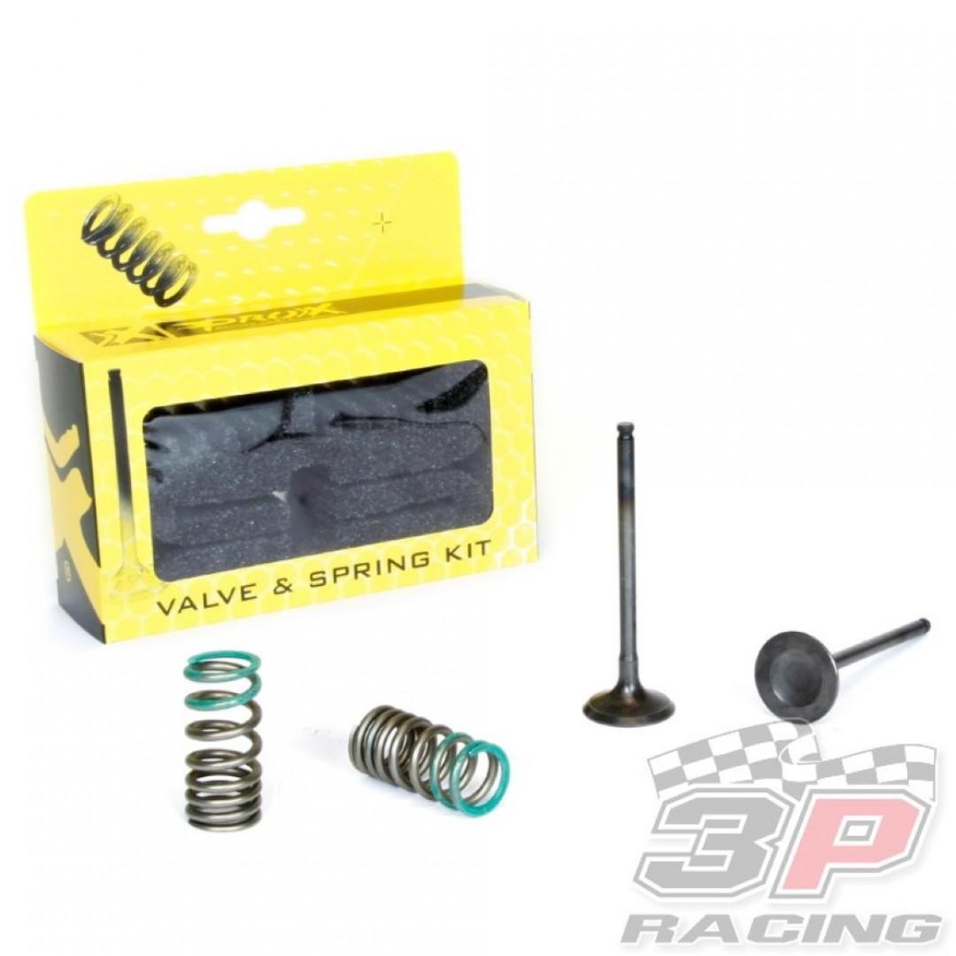 ProX steel exhaust valves & springs set 28.SES2402-1 Yamaha YZF 250, WRF 250, Gas Gas EC 250F, EC 300F