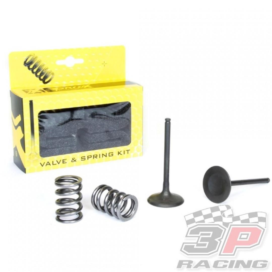 ProX steel intake valves & springs set 28.SIS3407-2 Suzuki RMZ 450 2007
