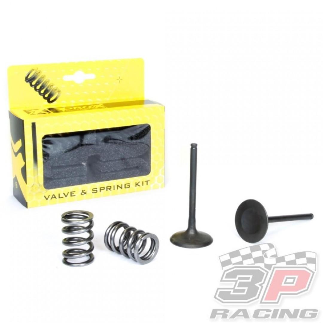 ProX steel intake valves & springs set 28.SIS3408-2 Suzuki RMZ 450 2008-2015, RMX 450Z 2010-2015